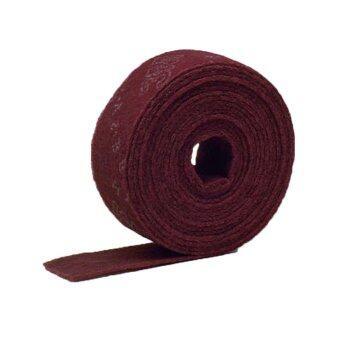ScotchBrite 3M 7447 ม้วนใยขัดสก๊อตไบรต์ สีแดง 4นิ้วx10เมตร 1ม้วน