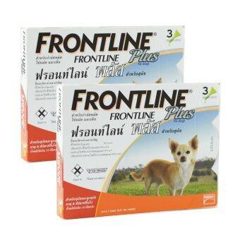 Frontline Plus for dogs 0-10kg กล่องละ 3 หลอด ( 2 units )