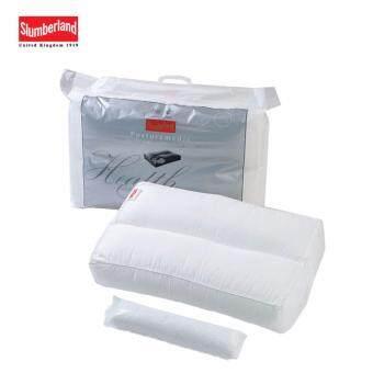 Slumberland Posture Medic Pillow หมอนหนุนเพื่อสุขภาพ พร้อมไส้รีฟิล- White