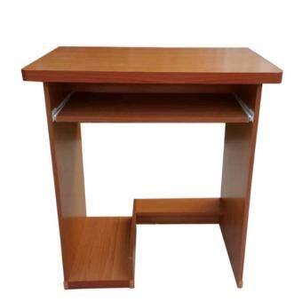 Grace Shop โต๊ะวางคอมพิวเตอร์ โต๊ะทำงานไม้ 80 ซม (สีลายไม้บีช)