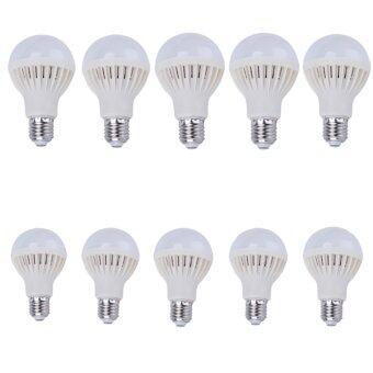 Energy LED หลอดแอลอีดี ประหยัดไฟ ชนิดเกลียว E27 หลอดLED 5w (สีขาว)แพ็ค 10ชิ้น