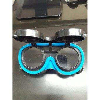 แว่นตางานเชื่อม กันสะเก็ด แบบสายรัยืดรอบศีรษะ ยี่ห้อ berent