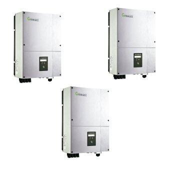 ซื้อถูก OEM อินเวอร์เตอร์ Growatt 4200MTL-10 สำหรับติดตั้ง Solar Cell 3 ตัว ราคาไม่แพง