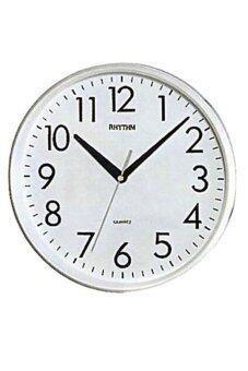 RHYTHM นาฬิกาแขวน รุ่น CMG716-NR03 (สีขาว)