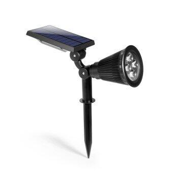 โคมไฟปักพื้นพลังงานแสงอาทิตย์ รุ่น solar cell spotlight (warm white color)