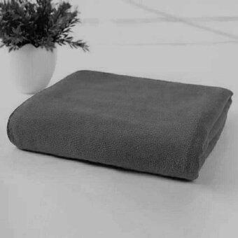ผ้าขนหนู ผ้าเช็คตัว ผ้ารับไหว้ ผ้านาโน ขนาด30นิ้วx60นิ้ว(จำนวน1ผืน) O-803
