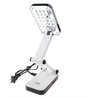 โคมไฟตั้งโต๊ะ LED ไม่ต้องใส่ถ่าน (สีขาว)