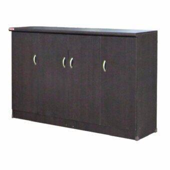 RF Furniture ตู้รองเท้า candy ขนาด120 cm( สีโอ๊ค)