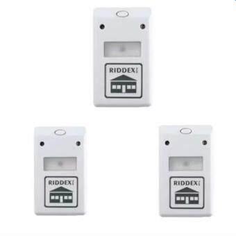 iremax เครื่องไล่หนู แมลงสาป ยุง มดและแมงมุม Electronic LED Light Pest Repelling Aid (White) แถมฟรี 2 ชุด มูลค่า299.-