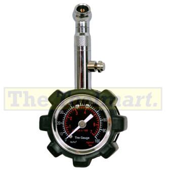 Truper เกจ์วัดลมยาง แบบนาฬิกาหุ้มยาง TRUPER รุ่น PC-6233