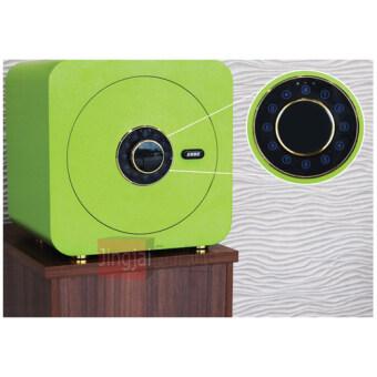 DAXTON ตู้เซฟนิรภัย เคลื่อบสี Epoxy Powder Coating ขนาด 40x30x40 รุ่น SAVE Nature / World BOX (green) สีเขียว