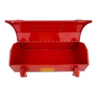 Iron Work กล่องใส่เครื่องมือช่าง กล่องเครื่องมือ 14 นิ้ว (สีแดง)