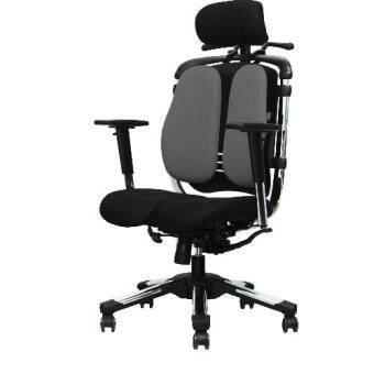 Hara Chair เก้าอี้สํานักงานเพื่อสุขภาพ รุ่น NIETZSCHE 2 - สีเทา