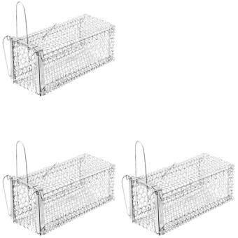 papamami Cage Rat Trap กรงดักหนูเล็ก 5นิ้วx11นิ้วx5นิ้ว (3กรง)