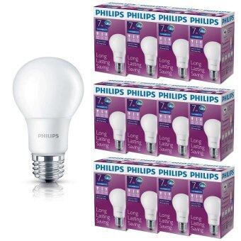 Philips หลอด LED BULB 7 วัตต์ ขั้ว E27 แสงเดย์ไลท์ (12 ดวง)