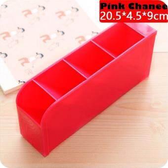 CHANEE กล่องเก็บของ 4 ช่อง สีชมพู จากเกาหลี