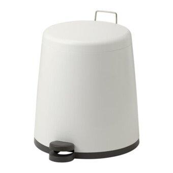 SNAPP ถังขยะแบบเหยียบ Pedal bin ขนาด 12 ลิตร(ขาว)