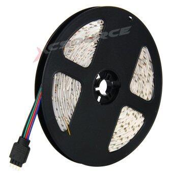 ไฟเส้น ไฟแถบ 5m 3528 RGB 60/M LED Strap Lights + 12V 2A Power supply + รีโมทคอนโทรล 24key IR EU Plug (image 2)
