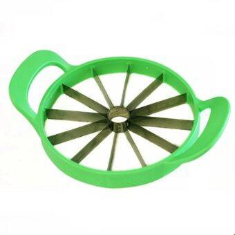 Like Melon Cutter ที่หั่นแตงโม ขนาดใหญ่ เครื่องตัดแตงโม ที่ตัดแตงโมทั้งลูก (สีเขียว)