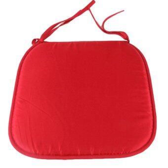 Fancyqube Fashion แผ่นรองนั่งเก้าอี้สีแดง