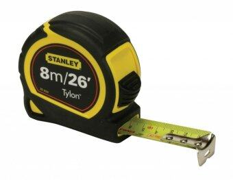 STANLEY ตลับเมตร TYLON 8M. - สีเหลือง/ดำ