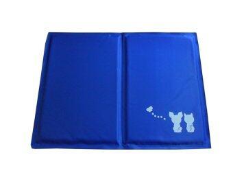 Dogacat แผ่นเจลเย็น ที่นอนเจลเย็น เบาะนอนเย็น - สีน้ำเงิน size XL