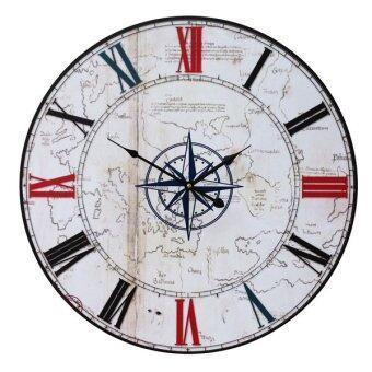 Kristra Home&Decoration 60CM. นาฬิกาแขวนผนัง แนววินเทจ รุ่น T70022