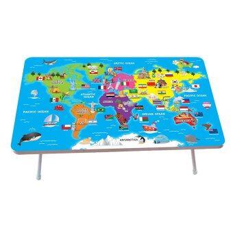Meestyle โต๊ะญี่ปุ่น ลายโลกของเรา 40x60ซม.