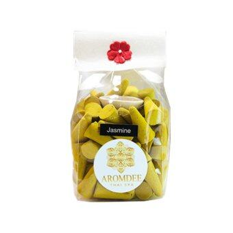 Aromdee cone incenses กำยานหอม อโรม่า กลิ่นมะลิ ถุงละ 100 เม็ด