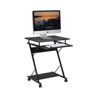 Ibiza Decor โต๊ะคอมพิวเตอร์ ขนาด 60cm (Black)