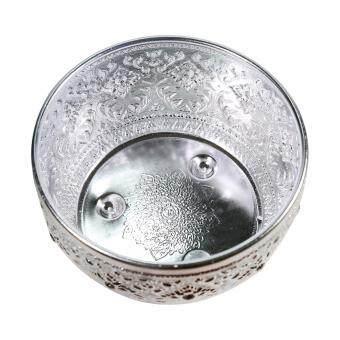 ขันน้ำ อลูมิเนียม ลายไทย สำหรับทำบุญ, งานสงกรานต์ ใช้ประกอบในงานพิธีต่างๆ (22ซม.)