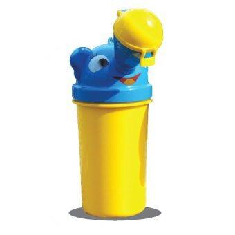 กระบอกฉี่เด็กแบบพกพา เหมาะสำหรับเด็กอายุ 0-6 ปี เพศชาย - สีเหลือง