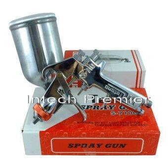 กาพ่นสี spray gun S-710 หัวพ่น 1.5 แบบถ้วยข้าง