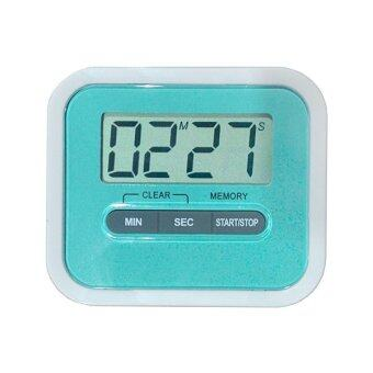 Digital Timer นาฬิกาจับเวลา เดินหน้าถอยหลัง รุ่น YGH115 (สีฟ้า)
