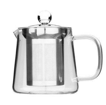 AZ21 กาน้ำชา แก้วใส ที่กรองสแตนเลส 550ml
