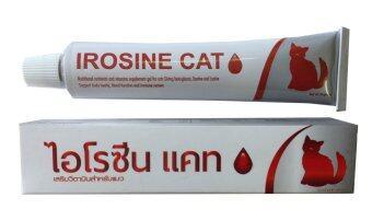 ไอโรซีน แคท อาหารเสริม เบต้ากลูแคน ธาตุเหล็ก สำหรับแมวป่วย เจล 30 กรัม