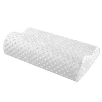 Harga JinGle Health Care Sleep Slow Rebound Memory Foam Pillow Cervical (White)