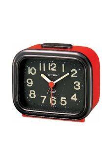RHYTHM นาฬิกาปลุก รุ่น 4RA888-R01 (สีแดง/ดำ)