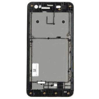 หน้าจอ lcd ด้านหน้ากรอบ Easybuy รูสำหรับ ASUS ZenFone 5/A501/A500 (สีดำ)