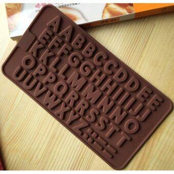 แม่พิมพ์ซิลิโคนรูปภาษาอังกฤษ A-Z สำหรับคุณหนูใช้เป็นพิมพ์ช็อกโกแลต วุ้น คุกกี้ ซิลิโคนคุณภาพส่งออก