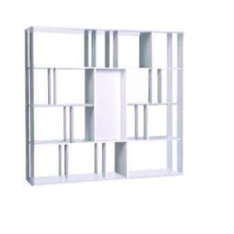 Asia ฉากกั้นห้อง ชั้นวางของกั้นห้องอเนกประสงค์ ขนาด1.5 เมตร สีขาว