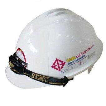 AT INDY หมวกนิรภัย (สีขาว)