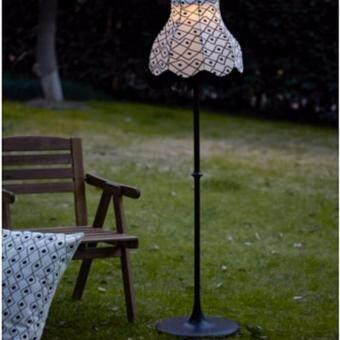 โคมไฟตั้งพื้น LED พลังแสงอาทิตย์ CK