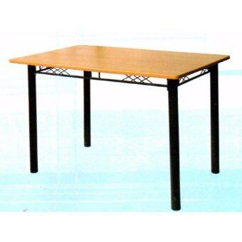 Asia โต๊ะอาหาร ผิว PVC ขนาด 1.20 เมตร รุ่นจาไมก้า