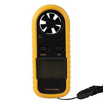 ความเร็วลมคุณภาพสูงเครื่องวัดขนาดกระเป๋าดิจิตอลมิเตอร์เครื่องวัดอุณหภูมิจอมาตรวัดความเร็วลม