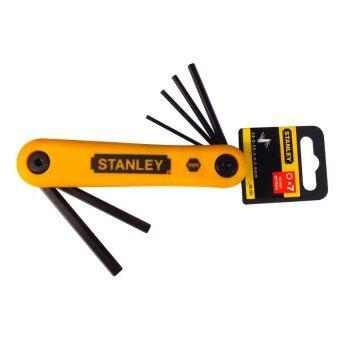 Stanley ประแจหกเหลี่ยม แบบตลับ 1.5 - 6 มม. (7 ตัวชุด) รุ่น 69-261