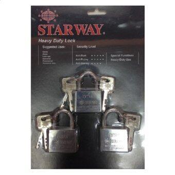 StarWayกุญแจมาสเตอร์คีย์3ตัว-ชุด