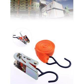 แถบผ้าสำหรับงานขนย้าย ยกของ Ratchet Tie Down Straps