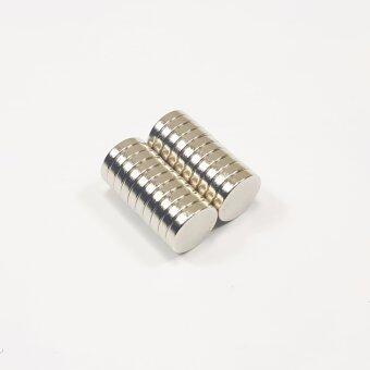 แม่เหล็กแรงสูง นีโอไดเมียม ขนาด 10mmx2mm (20 ชิ้น)