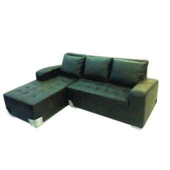 RF Furniture ชุดโซฟาเบด รุ่น I-CON ( หนังช้างสีน้ำตาลเข้ม )